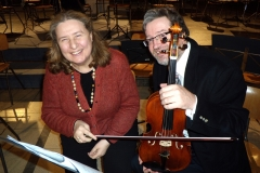 2010 Aachener Kammer Orchester. In Koln Gross St. Martin Kirche with  1st Viola Pavlik Lettiga